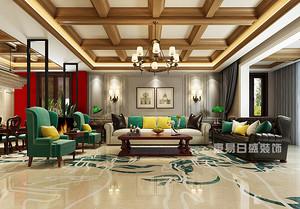 2018豪华别墅室内装修效果图片,带你领略美式风情!
