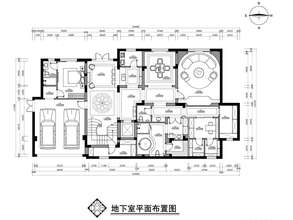 九龙湖观澜二期独栋800平方现代简美装修设计理念