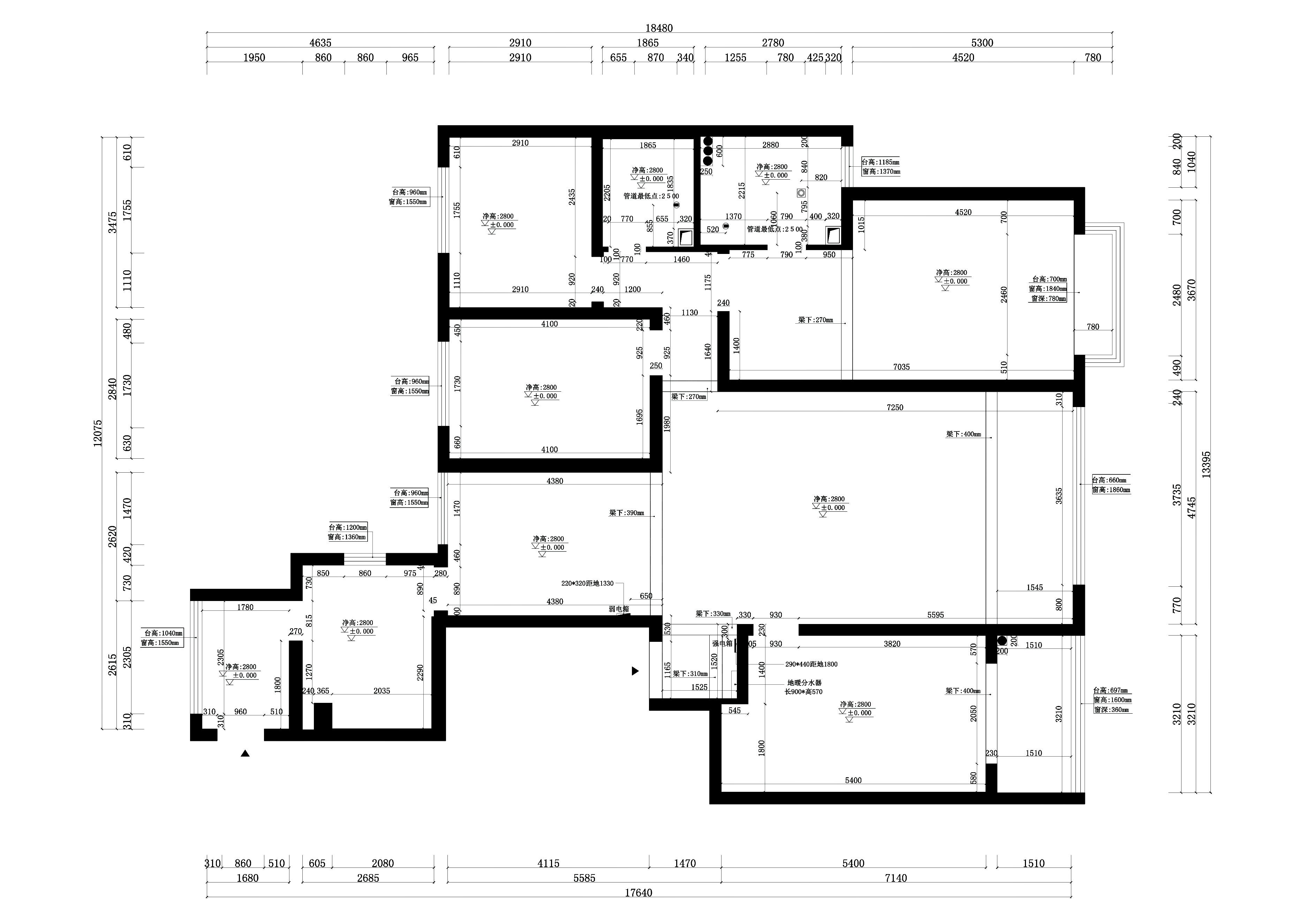 和泰紫园现代简约240平米装修效果图装修设计理念