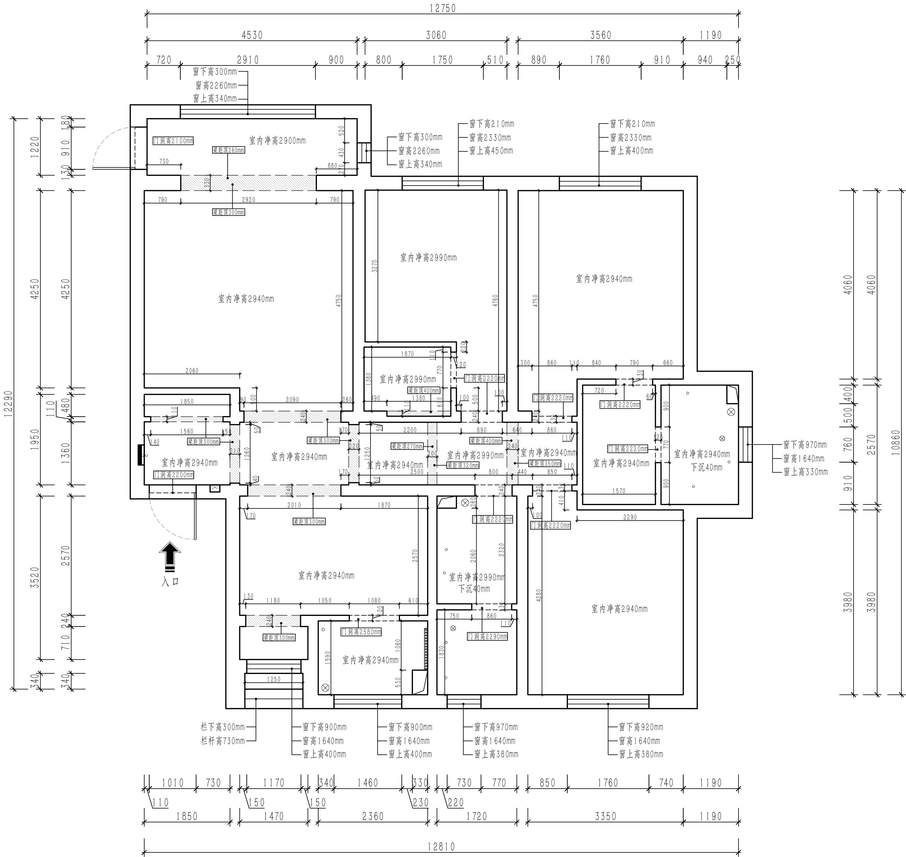 钻石湾-现代简约-180平装修设计理念