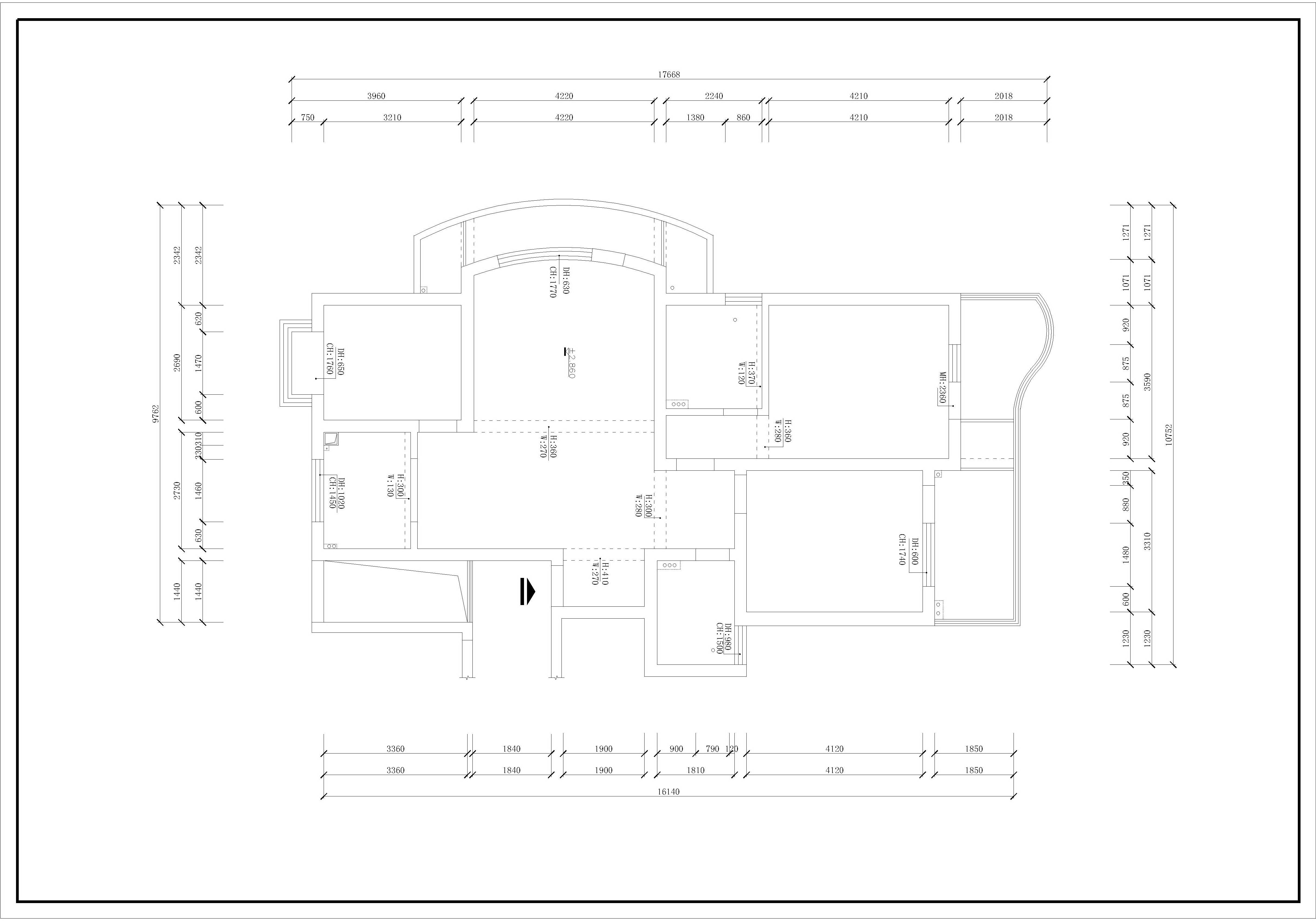 銀杏山莊-法式-143平裝修設計理念