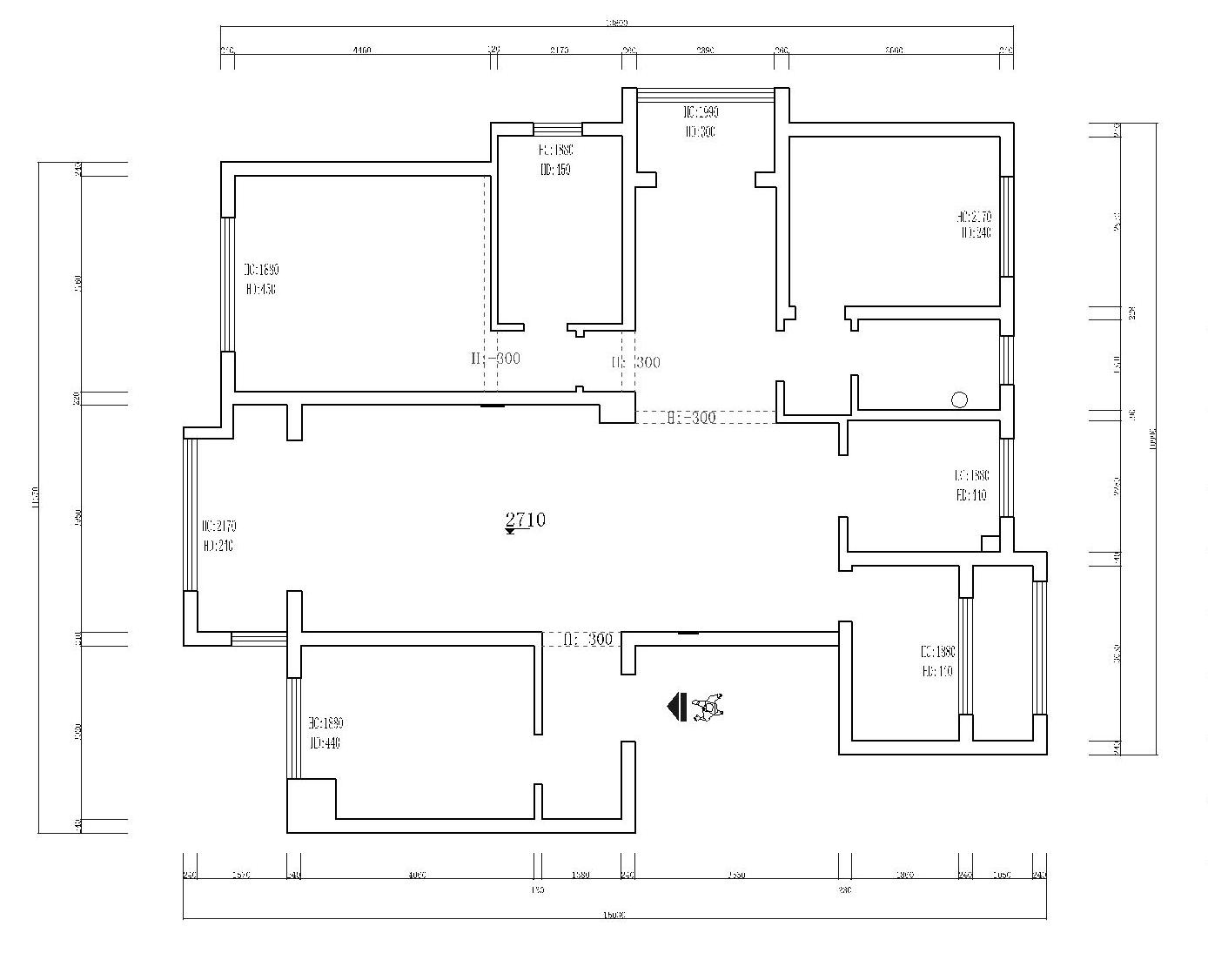 保利西山林语-300平米-现代轻奢风格-复式房装修案例效果图装修设计理念