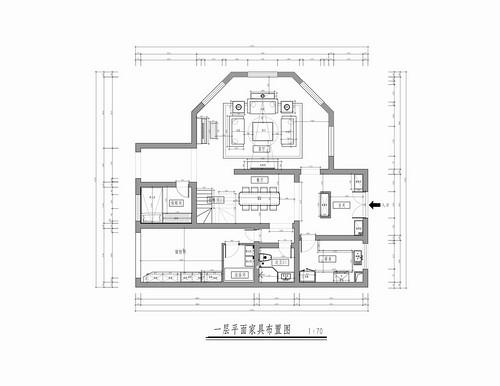 枫丹丽舍-美式-350平米装修设计理念
