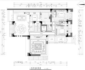 华侨城别墅-欧式古典-350平米户型