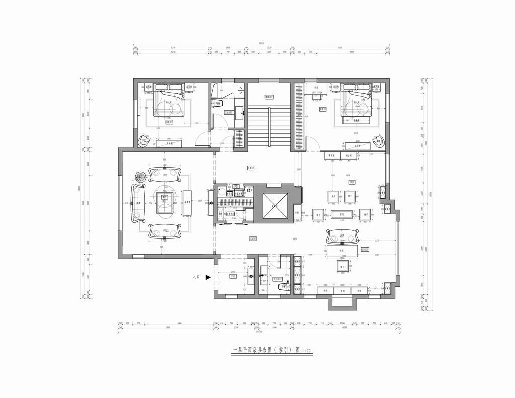 润泽御府-简欧-800平米装修设计理念