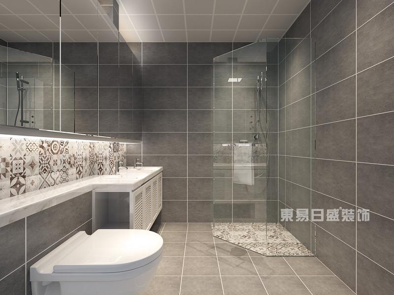 小面积卫生间怎么装修?东易日盛装饰分享小面积卫生间装修技巧