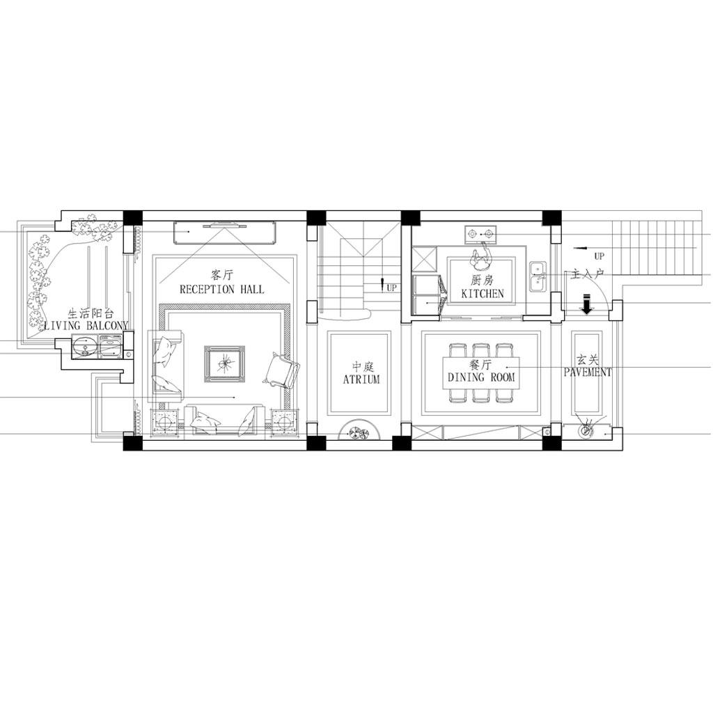 江山府158平现代美式性状style装潢策划愿景