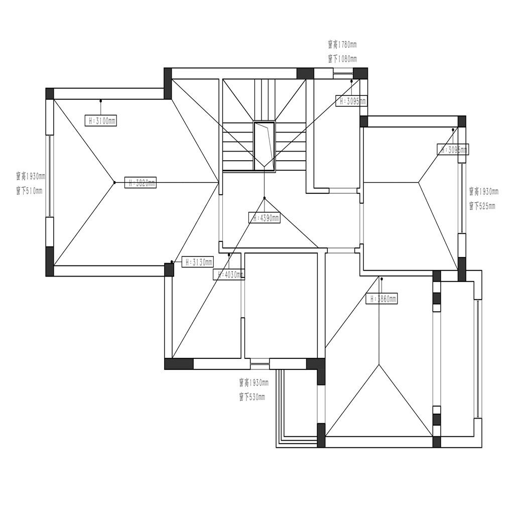 上海洋房-海派风格-600平米别墅装修设计理念