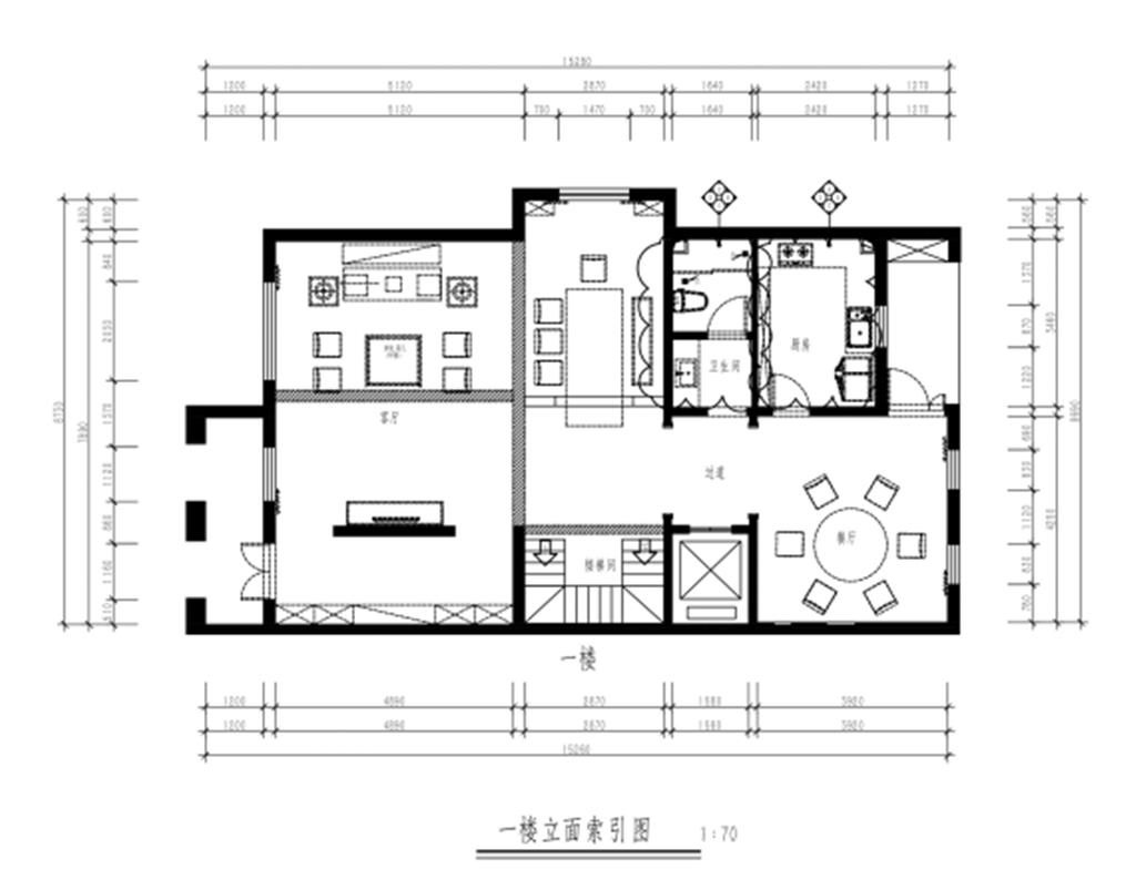 悦湖庭院-中式风格-390平米装修设计理念