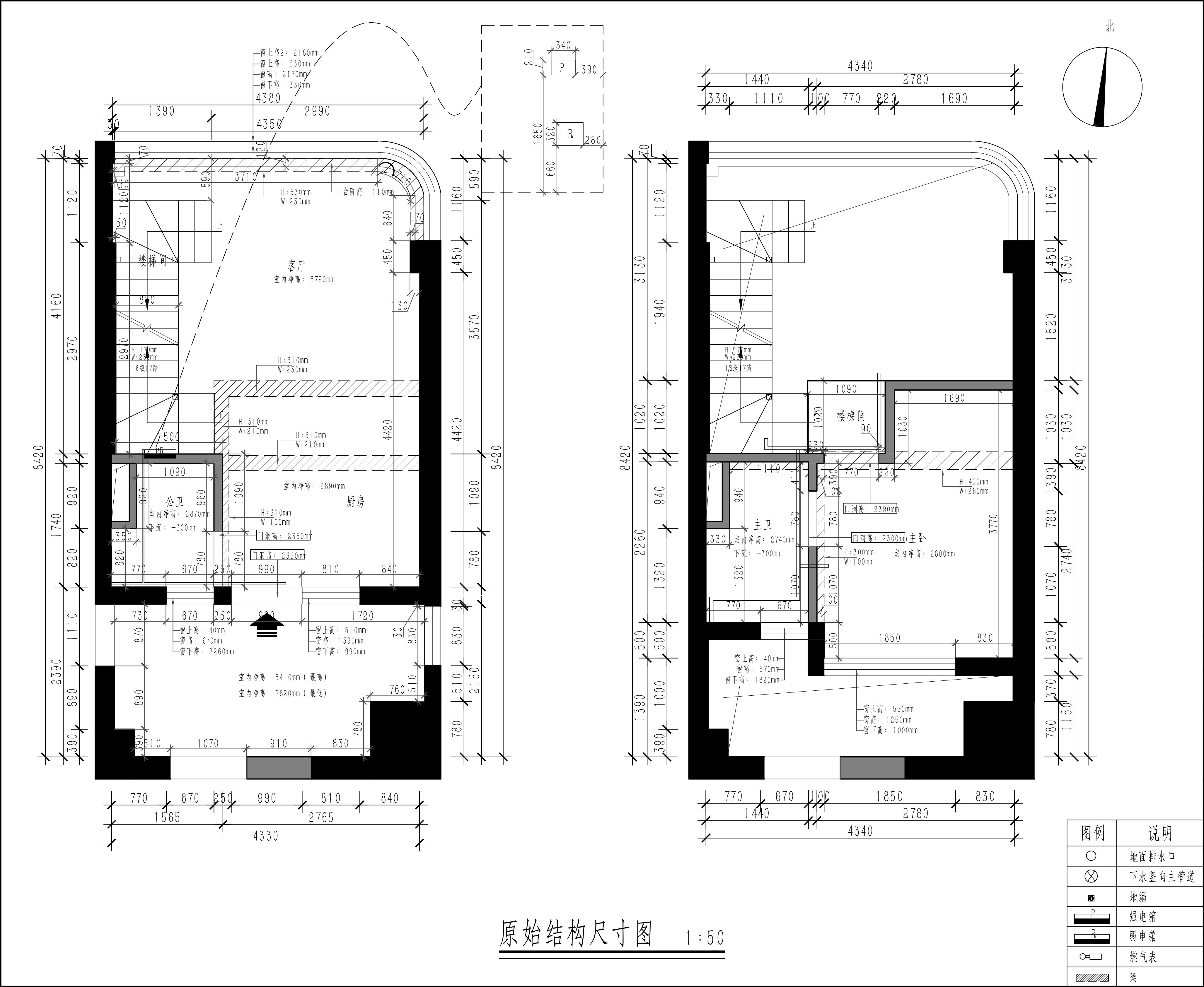 王府井50㎡现代简约复式装修效果图装修设计理念