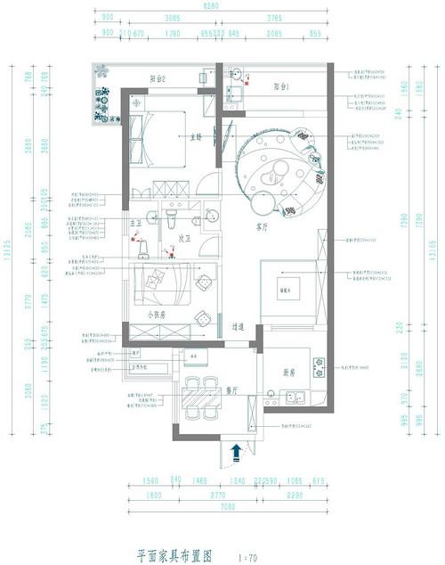 葛洲坝国际广场欧式风格装修效果图装修设计理念