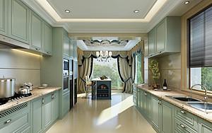 家居厨房装饰,如何设计好收纳储物空间的问题