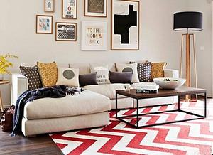 客厅装修用哪种材料的地毯比较好?客厅地毯怎么选?