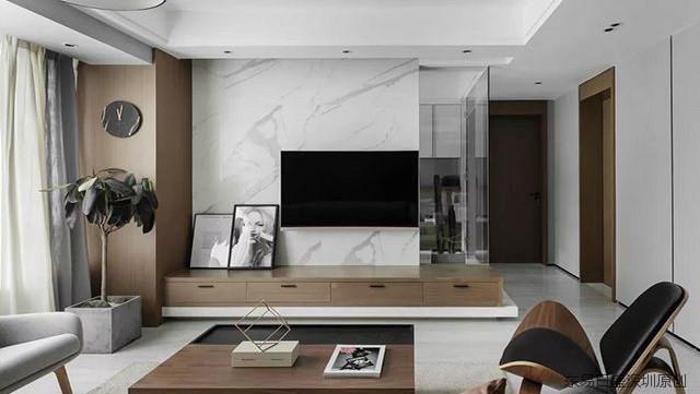 《深圳装修房子的步骤》现代风格装修效果图,简约之美