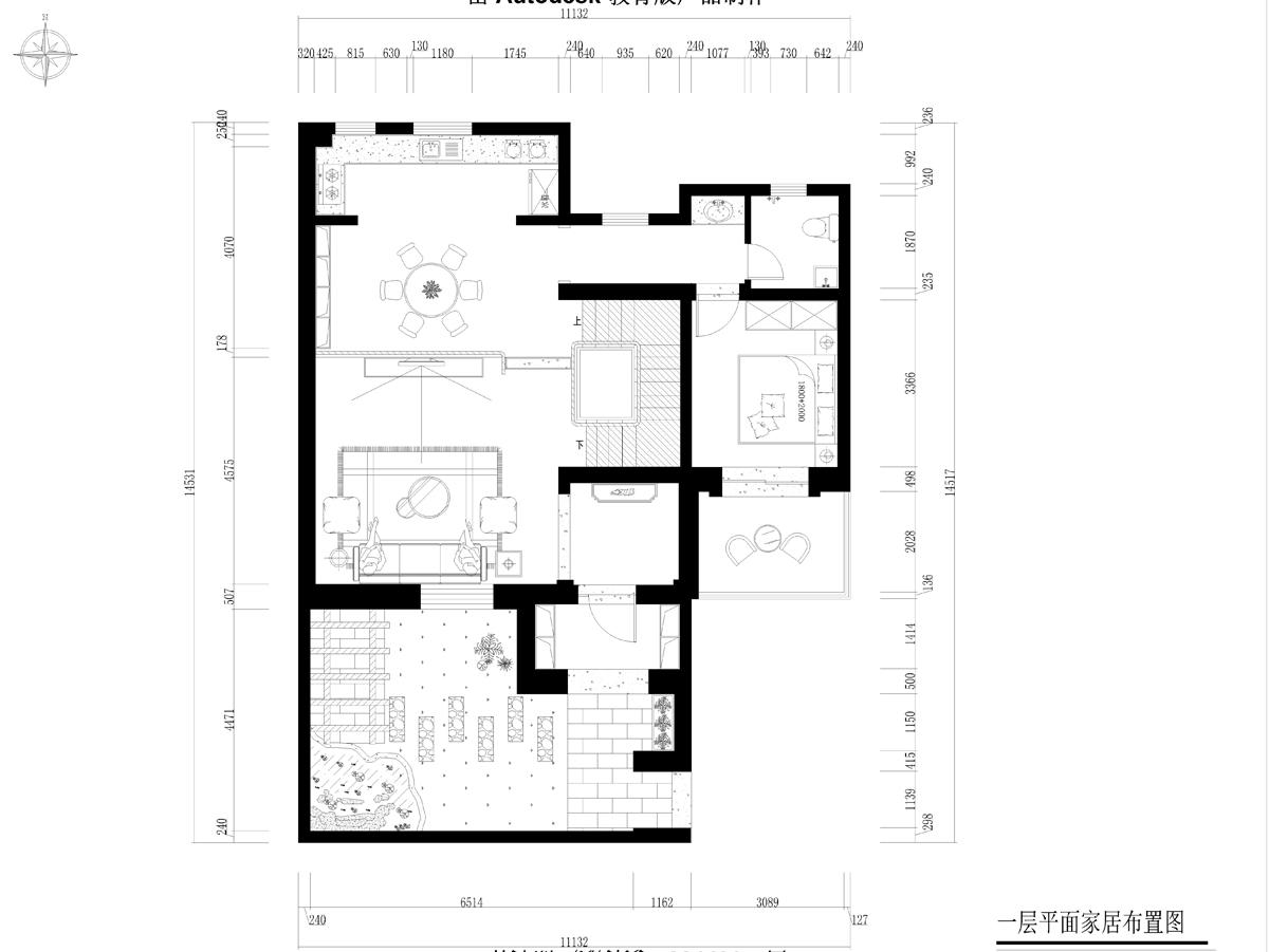 莱蒙湖 北欧田园 310平米装修设计理念
