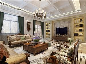 佛山别墅装修设计分享:客厅墙面装修用什么装修材料好呀?