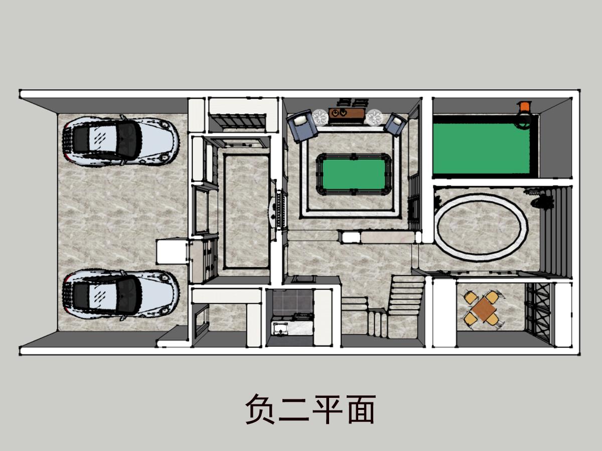 雅戈尔东海府700㎡港式轻奢装修设计理念