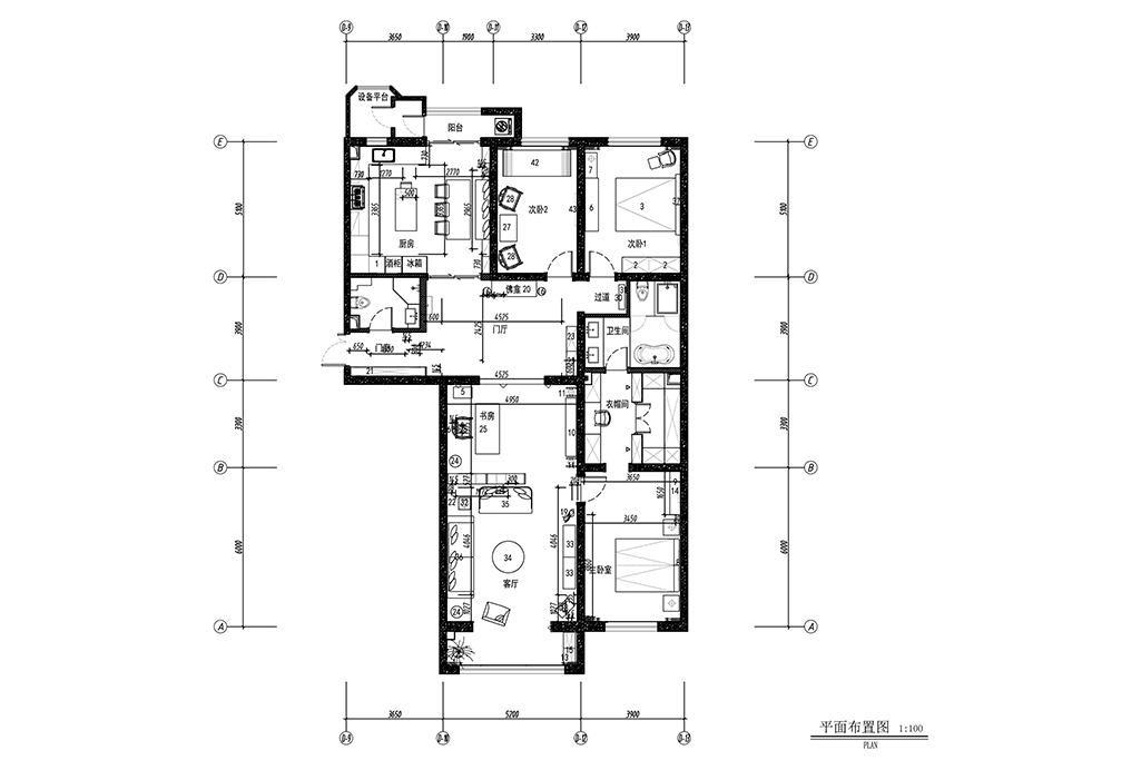 世贸国际公寓-新中式-230㎡装修设计理念