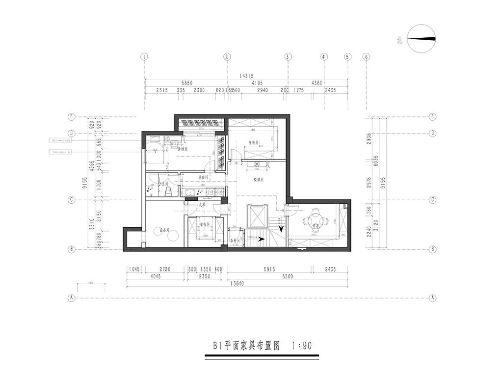 大湖山庄-现代简约-580㎡装修设计理念
