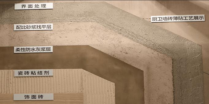 东易日盛瓷砖薄贴工艺