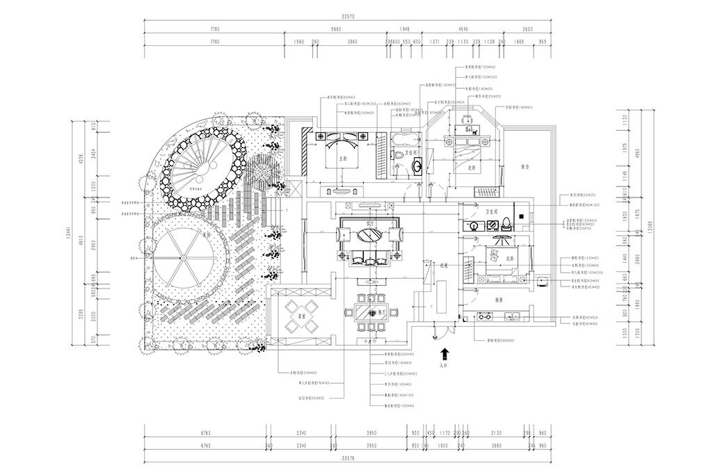 101公寓-新中式-170㎡装修设计理念