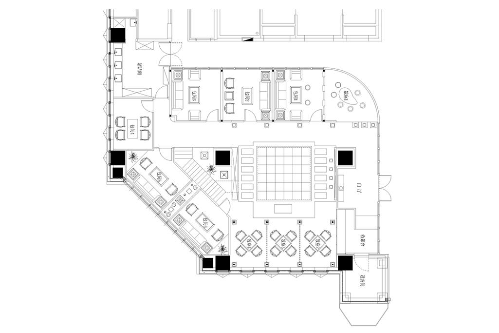 茶楼-中式-340㎡装修设计理念