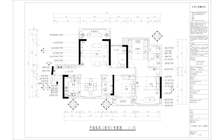 东盟中央城116㎡现代欧式装修设计理念