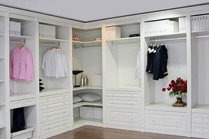 室内装修设计中衣帽间的设计注意事项