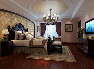 北京卧室装修铺地毯怎么样?如何选择呢?北京卧室装修效果图