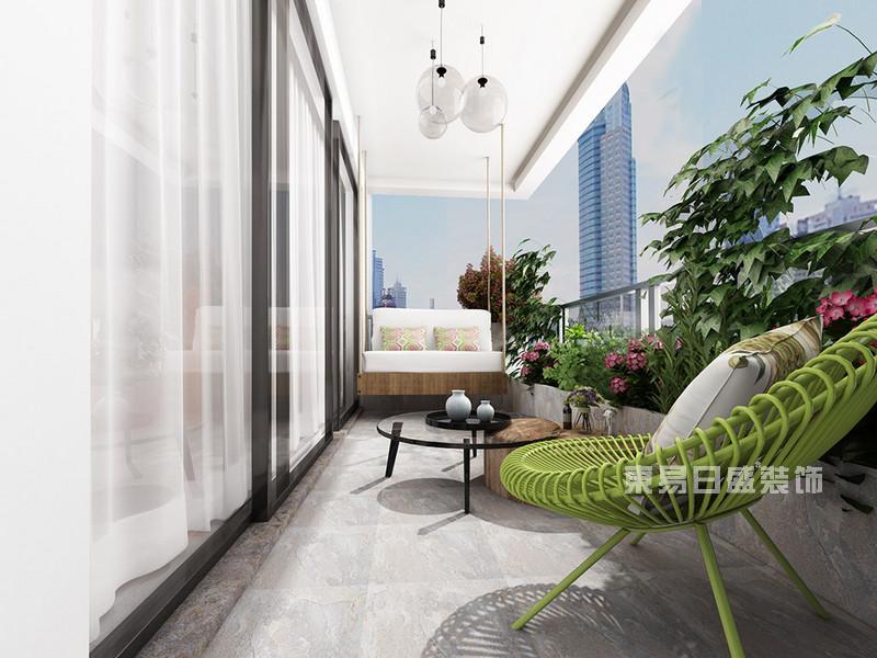 阳台面积小怎么装修?东易日盛分享小面积阳台装修设计要点