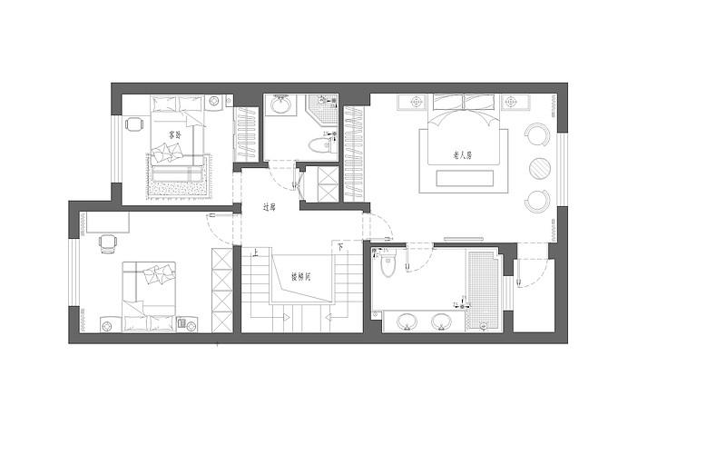 万科西山广告-简欧-340平-东易日盛大连装修别墅栋别墅独效果图片