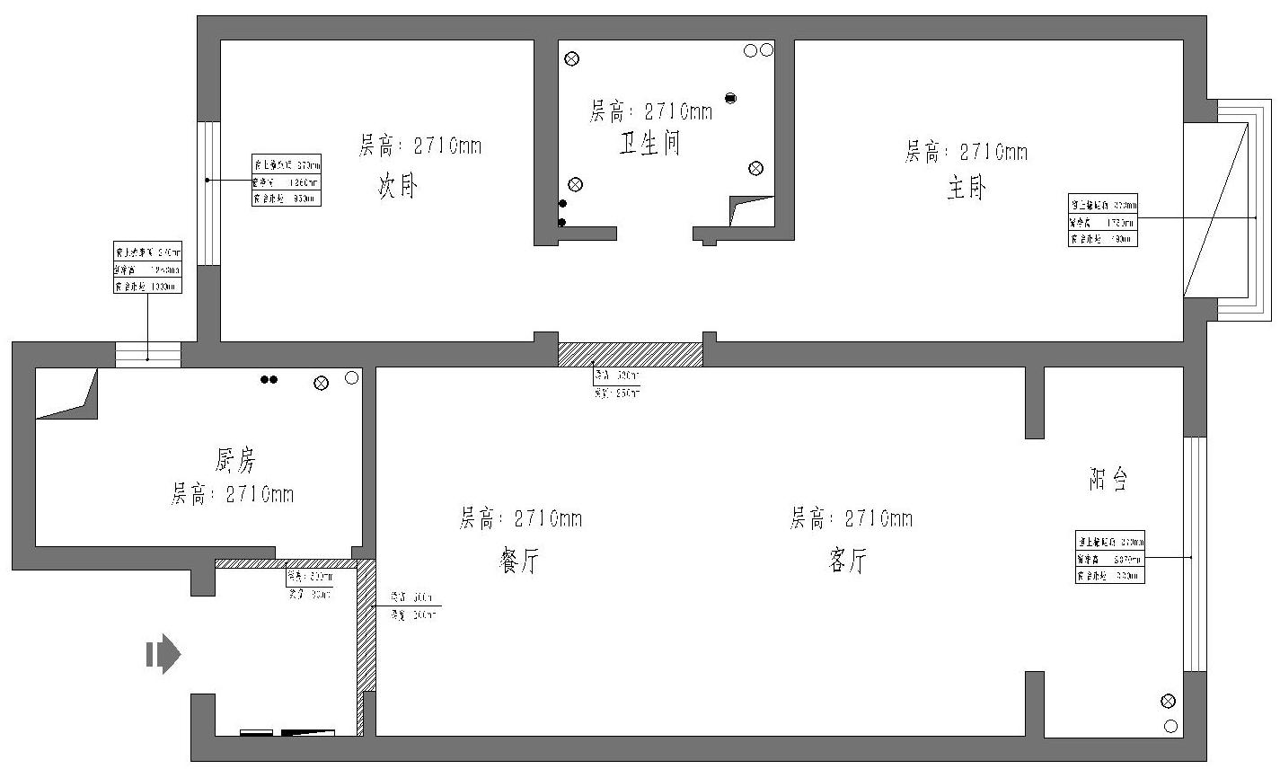 华润幸福里现代简约101平米装修效果图装修设计理念