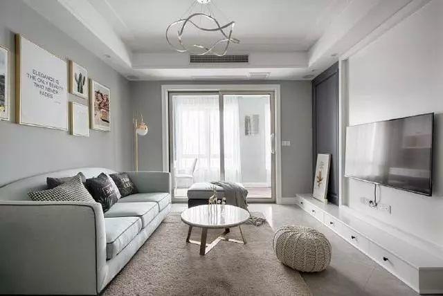 北欧风格装修案例-客厅