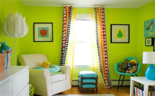 儿童房如何选择颜色?