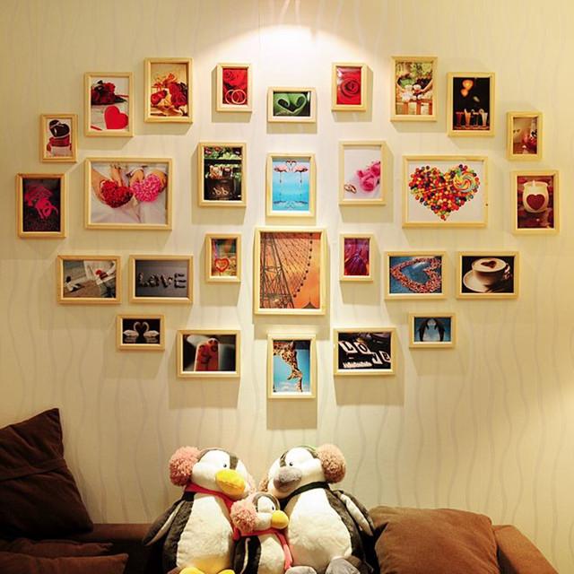 墙面不留白同样很美,属于你我墙面的独家记忆