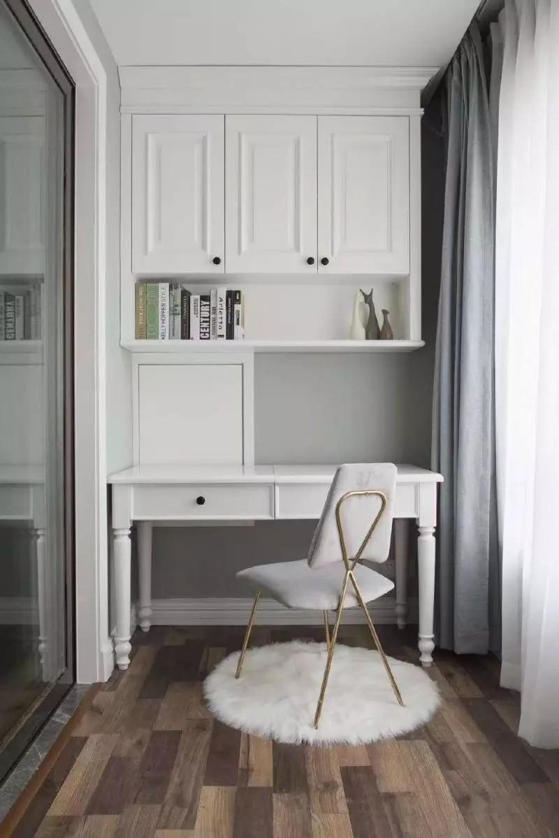 北欧风格装修案例-书房