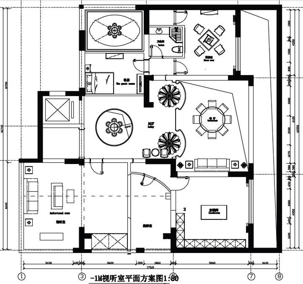 国宾壹号现代简约300㎡装修设计理念