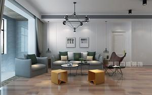 200平米现代简约装修样板间,经典设计造就潮流家居生活