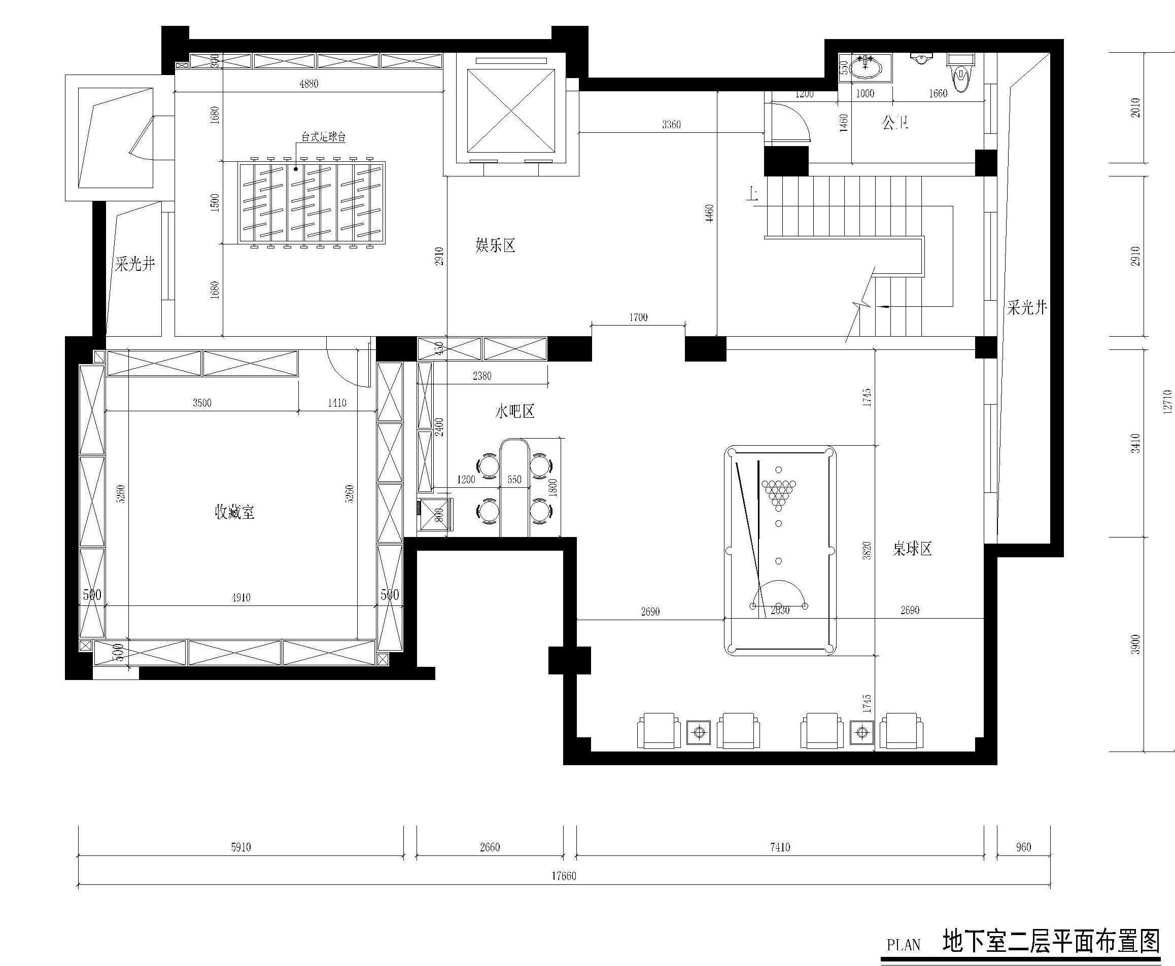 南城御花苑天珺湾装饰案例 930㎡欧式独栋别墅装修效果图装修设计理念