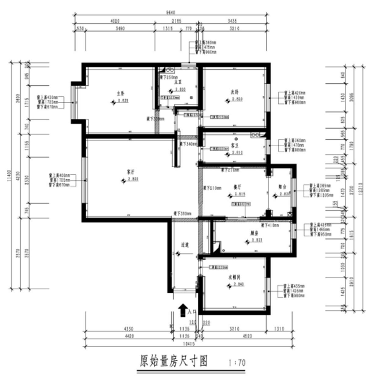 融创中心-现代简约风格-130平米装修设计理念