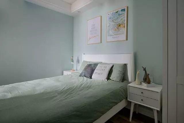 北欧风格装修案例-卧室