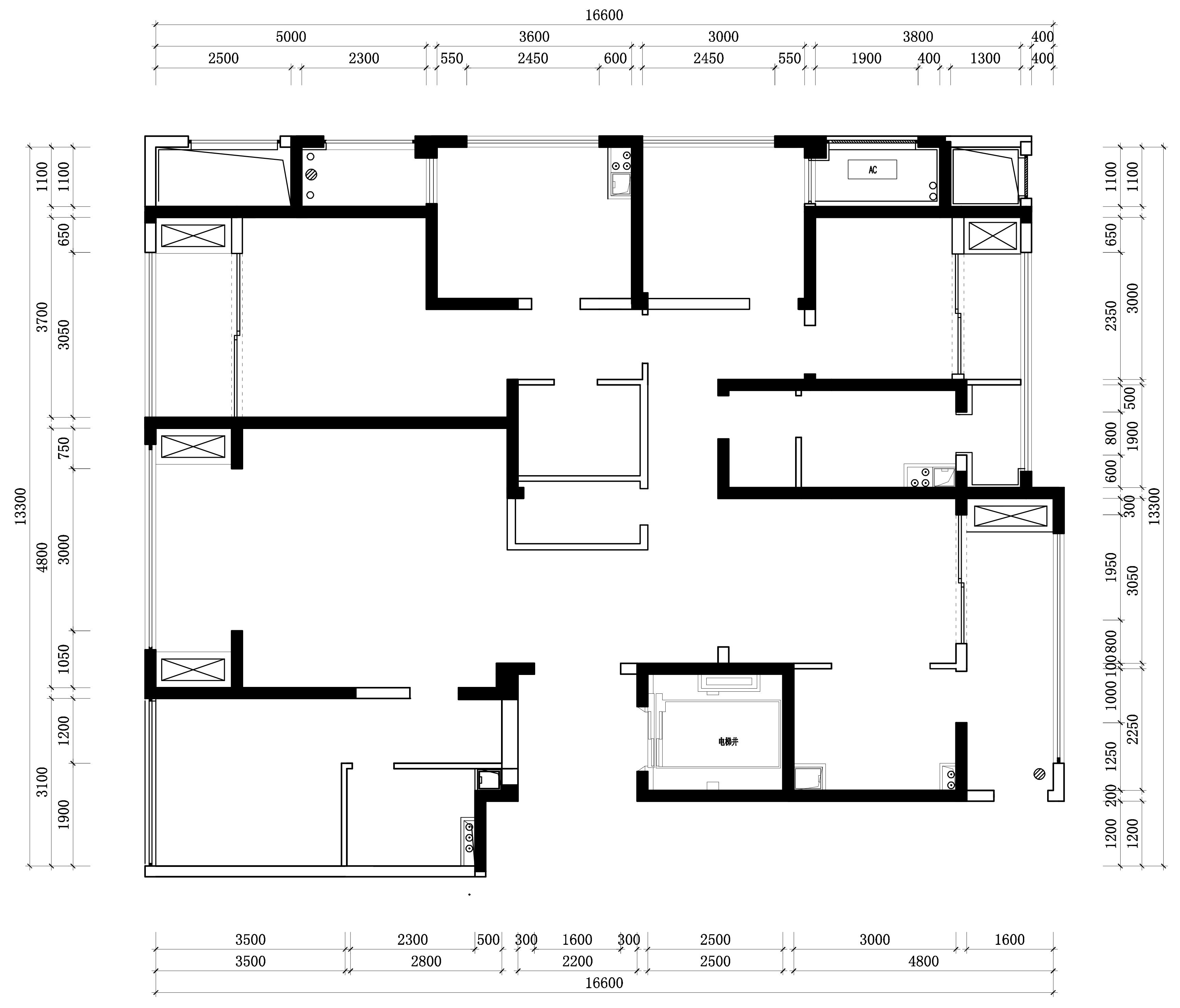 【实景图】金沙湖现代简约风格205㎡平层装修设计理念