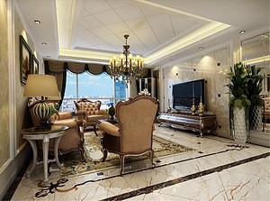 138平简欧风格三室装修效果图,简约、质朴!