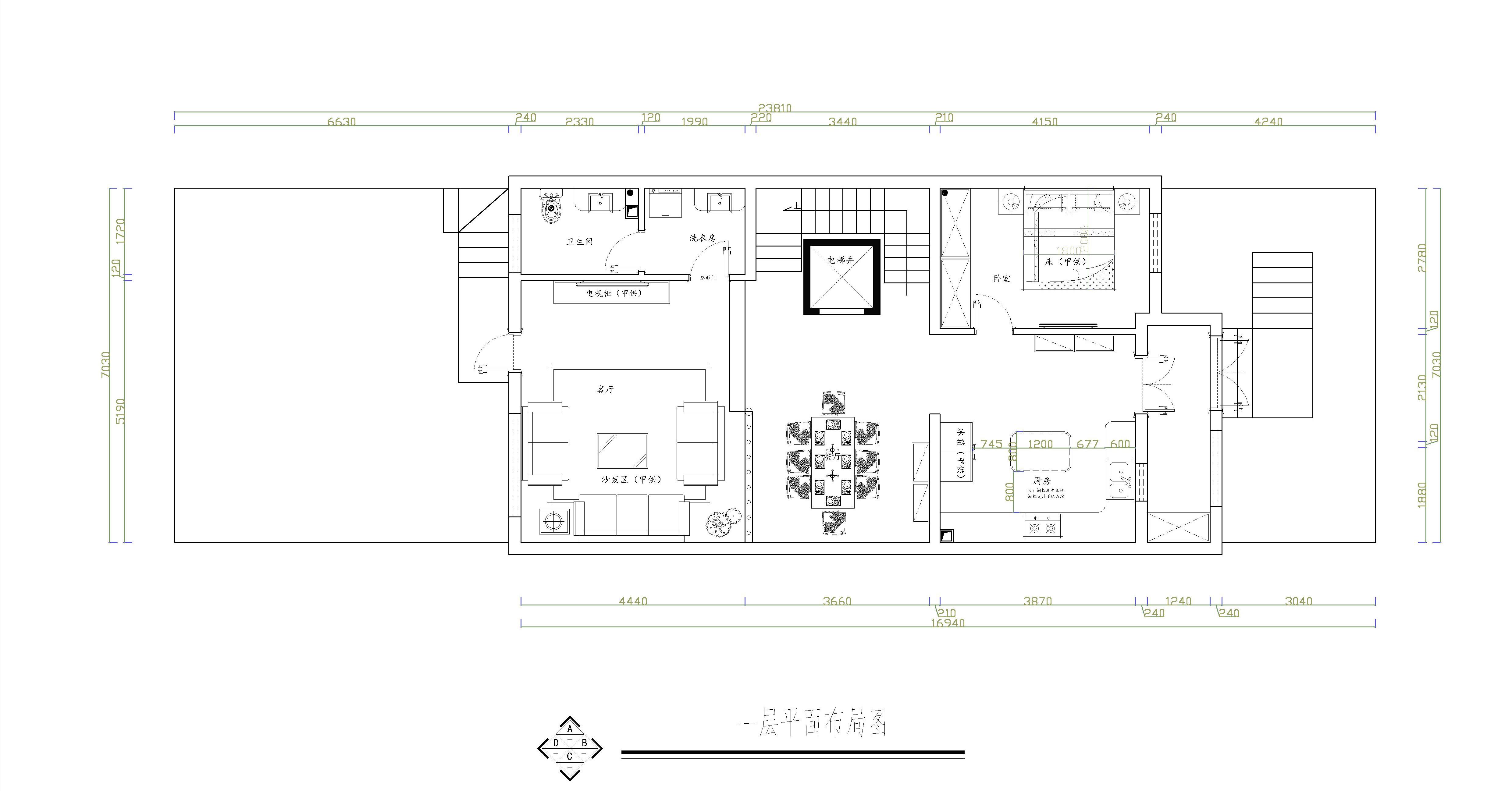孔雀城凌兰园 简欧 445平米装修设计理念