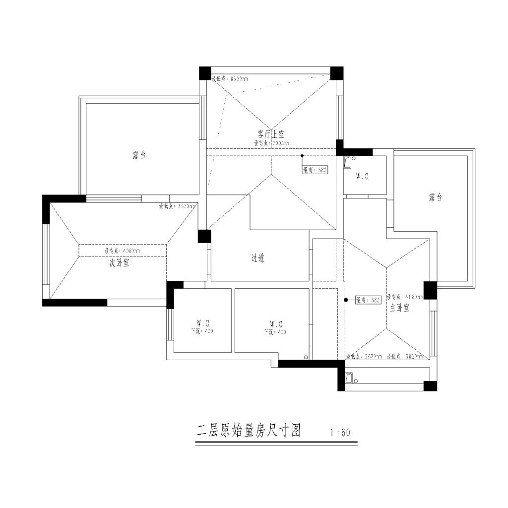 碧桂园260㎡跃层欧式古典风格装修效果图装修设计理念