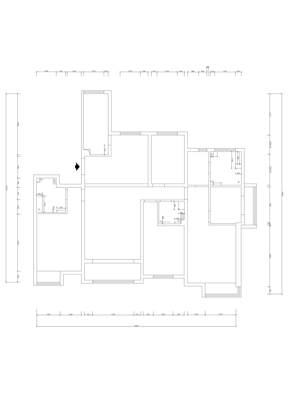 珠江道12号-新中式-195㎡装修设计理念
