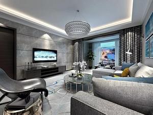 重庆2018年三室一厅,黑白灰风格的新房装修需要多少钱