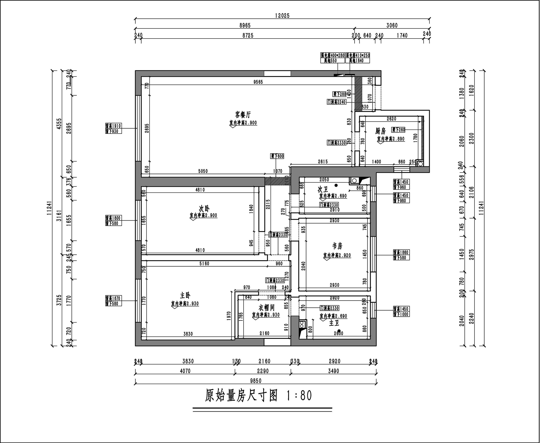 华润悦府简美151平米装修效果图装修设计理念