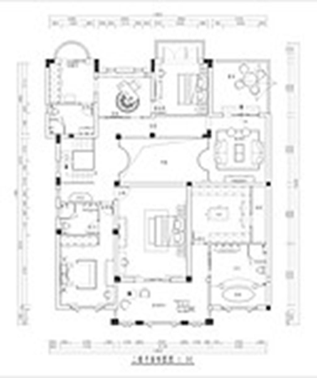 逸墅庄园450平米美式新古典装修设计理念