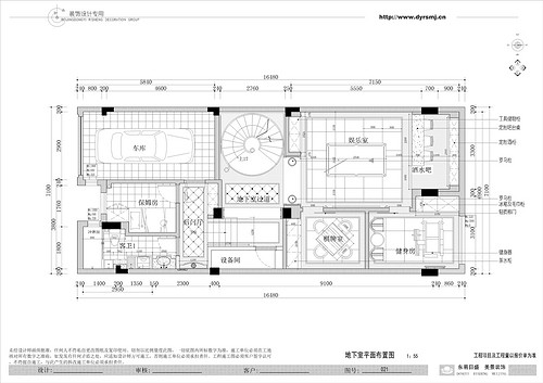 博园岚郡380平米美式乡村风格装修案例装修设计理念